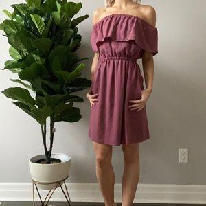 Aritzia | BNWT Hosta Off-the-Shoulder Dress ✨